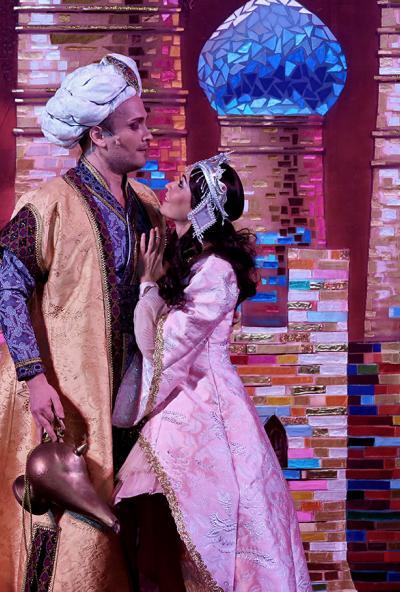 Afisha-go. Афиша мероприятий: Детская опера «Волшебная лампа Аладдина»
