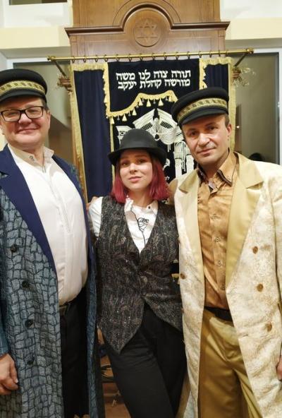 Afisha-go. Афиша мероприятий: Концерт ансамбля еврейской музыки «Алэвай»