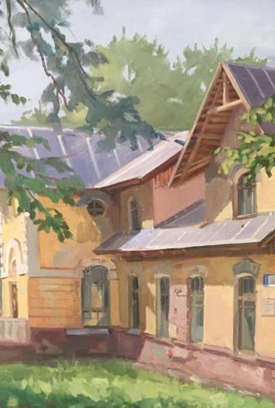 Afisha-go. Афиша мероприятий: Выставка по итогам IV фестиваля художников «Пленэр-фест на Морозовской даче»