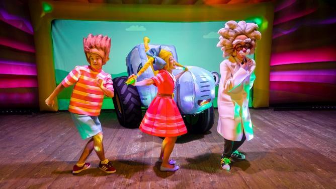 Афиша - Обнинск: Музыкальное детское шоу «Синий трактор»