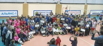 Обнинск. Отдых и развлечения: 42-й турнир ветеранов волейбола