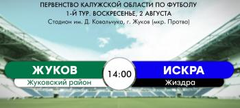 Afisha-go. Афиша мероприятий: I игра в Первенстве Калужской области по футболу