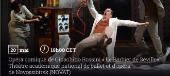 Afisha-go. Афиша мероприятий: Опера «Севильский цирюльник»