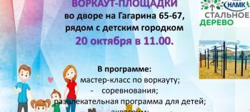 Обнинск. Отдых и развлечения: Праздник в честь открытия воркаут-площадки