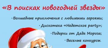Afisha-go. Афиша мероприятий: Праздник «В поисках новогодней звезды»