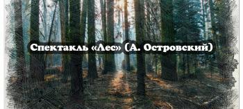 Обнинск. Отдых и развлечения: Спектакль «Лес»