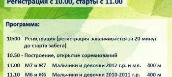 Обнинск. Отдых и развлечения: Весенний кросс в Балабанове