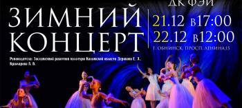 Afisha-go. Афиша мероприятий: Зимний концерт от театра балета «Подснежник»
