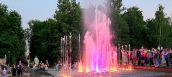Обнинск. Отдых и развлечения. Афиша мероприятия: Городской фонтан в Обнинске