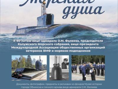 Afisha-go. Афиша мероприятий: Выставка «Морская душа» к 80-летию вице-адмирала О.М. Фалеева